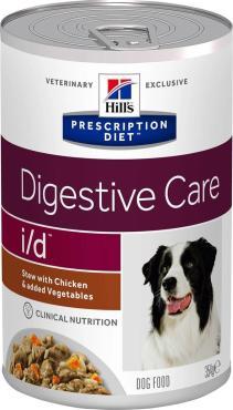 Корм для собак влажный рагу для пищеварительного тракта Hill's РD i/d, 354 гр., жестяная банка