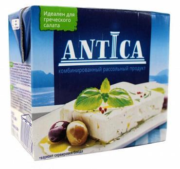 Фета рассольный продукт, 55%,  ANTICA, 500 гр., картон