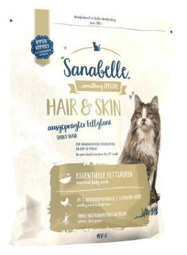 Сухой корм для кошек Sanabelle Hair&Skin 400 гр., пластиковый пакет