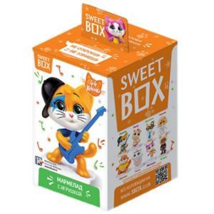 Мармелад с игрушкой 44 котёнка, Sweet Box, 10 гр., картон