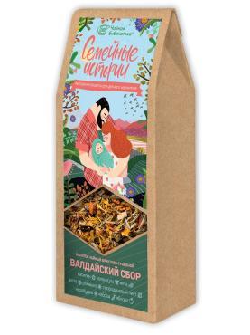 Чай Валдайский травяной сбор, TEACO, 60 гр., пакет