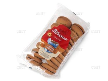 Печенье сдобное с вареной сгущенкой Слада Печенин, 350 гр., флоу-пак
