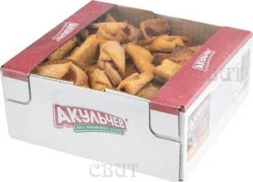 Печенье с брусникой Акульчев Джанни, 750 гр., картонная коробка
