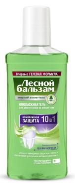 Ополаскиватель для дёсен Лесной бальзам, 400 мл., пластиковая бутылка