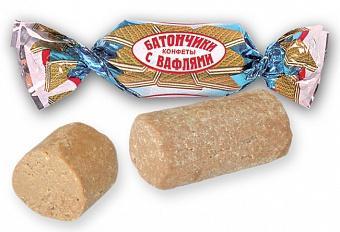 Батончики ТАКф с вафлями, 1 кг., ПЭТ