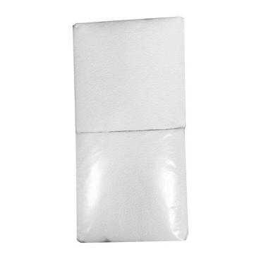 Салфетки 24х23 см., 1 слой, белые, бумага, 400 шт., пластиковый пакет