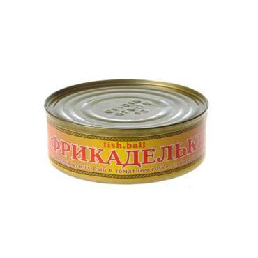 Фрикадельки в томатном соусе Хорошие Консервы, 240 гр., ж/б