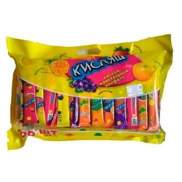 Жевательная конфета Данли Кисляш, 8 гр., пластиковый пакет