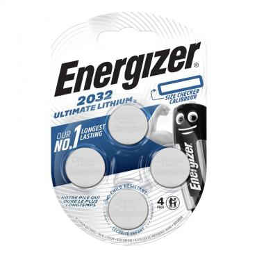 Батарейка Ultim Lithium CR2032 BP Energizer, блистер