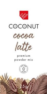 Какао на кокосовом молоке, 20 шт., Mynewfood 25 гр., сашет