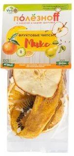 Чипсы микс фруктовый, Полезноff 50 гр., пластиковый пакет