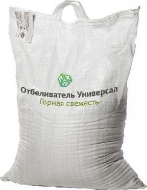 Отбеливатель универсал порошковый Горная свежесть 25 кг., мешок