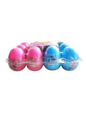 Драже с игрушкой в пластиковом яйце, Мегаяйцо, Конфитрейд, 5 гр., пластиковая упаковка