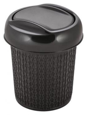 Контейнер для мусора 1 л., венге Svip Ajur
