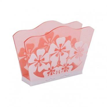 Салфетница розовая Альтернатива Камелия