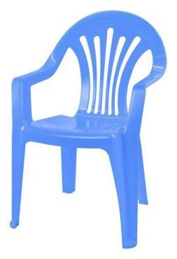 Кресло детское голубое Альтернатива
