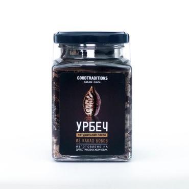 Урбеч GOODTRADITIONS из какао-бобов (с медом) , 260 мл, стекло