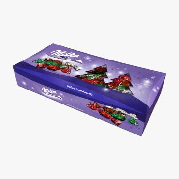 Конфеты Milka Xmas Candy Mix, 310 гр., картон