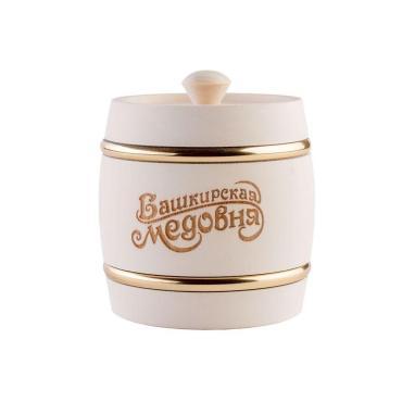 Мёд Башкирская медовня цветочный, 1 кг, подарочная упаковка