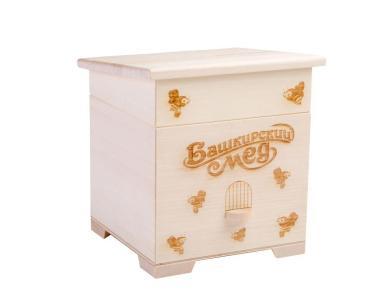 Мёд цветочный Башкирская медовня, 400 гр., подарочная упаковка