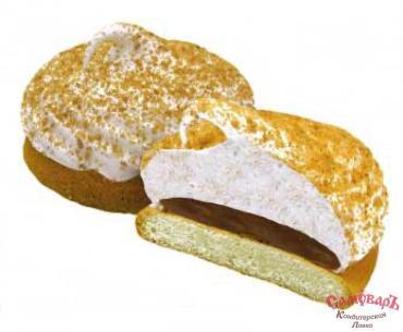 Пирожные бисквитные со вкусом вареной сгущенки, Воздушные истории , 1.5 кг., картон