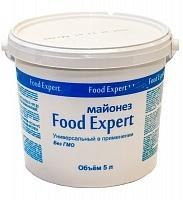 Майонез 55% Food Expert 7 кг., пластиковое ведро