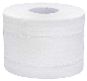 Бумага туалетная с листовой подачей, 2 слойн, 120 м/рул, тиснение, белая Focus Point