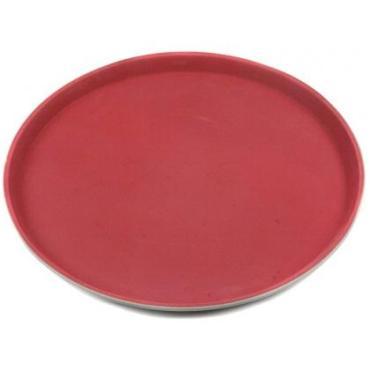 Блюдо сервировочное 445х320х30 мм., пластик красное Bora