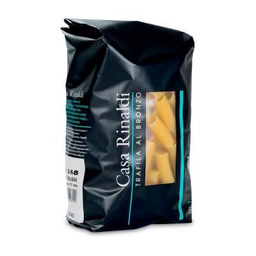 Паста Тортильони, Сasa Rinaldi, 500 гр., пластиковый пакет