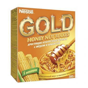 Хлопья Nestle GOLD 300 гр., картон