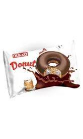 Пончики молочная начинка Nukka donut, 40 гр., флоу-пак