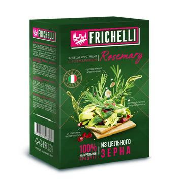Хлебцы Frichelli c розмарином, Matti, 110 гр., картон