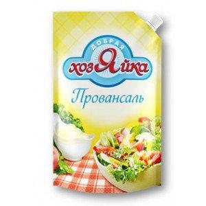 Майонез Провансаль с лимонным соком, Добрая Хозяйка, 770 гр., дой-пак с дозатором