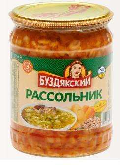 Суп Буздякский Рассольник , 500 гр, стекло