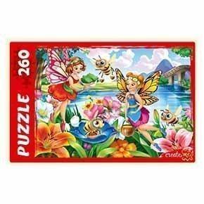 Пазл 260 элементов Рыжий кот Феи помощники № 2, картон