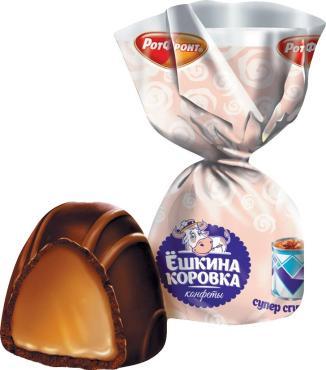 Конфеты супер сгущенка РотФронт Ёшкина коровка, 4 кг.