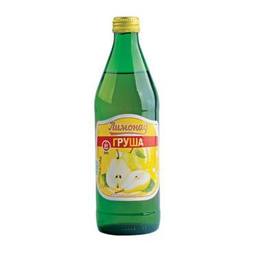 Лимонад со вкусом груша, Deneb, 500 мл., стекло