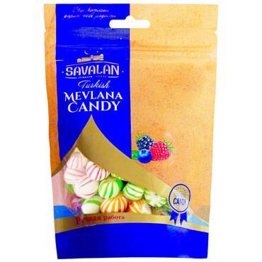 Конфеты лесные ягоды Savalan Turkish Mevlana Candy, 180 гр., дой-пак