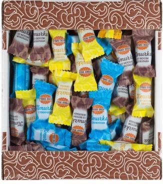 Конфеты Правила вкуса лимон, сливочный, шоколад Птичка по правилам, 1 кг., ПЭТ