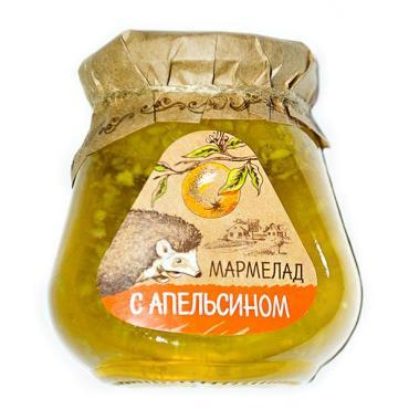Мармелад Апельсин, Мармеладная сказка, 300 гр., стекло