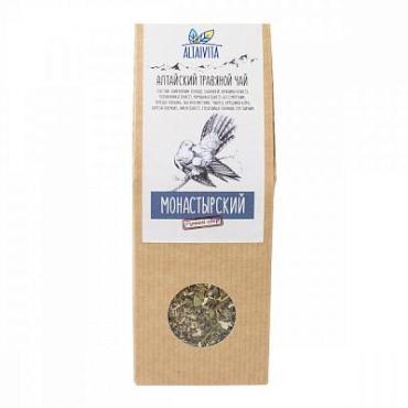 Чай монастырский Чай, травяной Алтайвита, 70 гр., картон