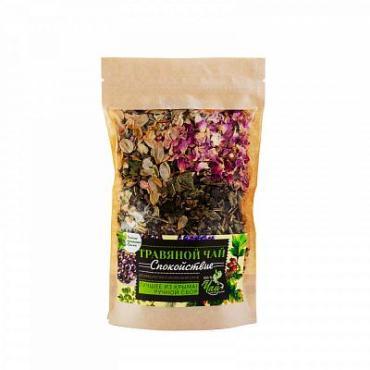 Чай, травяной Чайные традиции Крыма Спокойствие, 40 гр., дой-пак