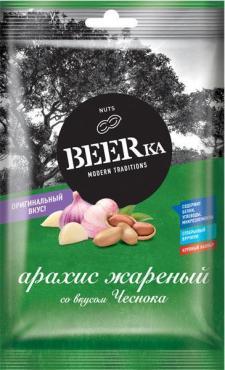 Арахис Чеснок BEERka, 90 гр., флоу-пак