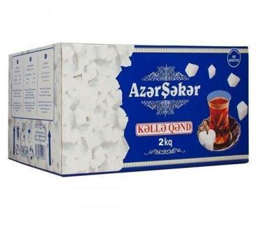 Сахар кусковой Азерчай, 2 кг., картон