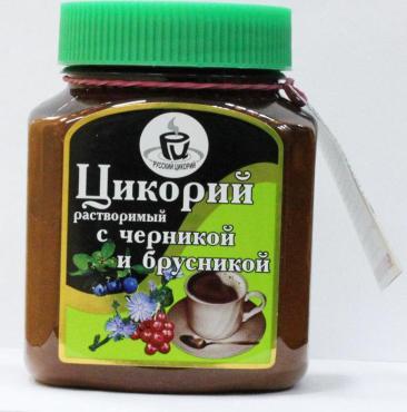 Цикорий Русский цикорий Черника-Брусника порошок 100 гр