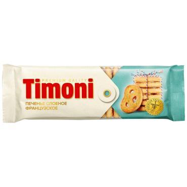 Печенье Timoni Французское с сахаром, 115 гр., флоу-пак