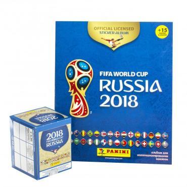 Альбом FIFA-2018 для наклеек Чемпионат мира по футболу