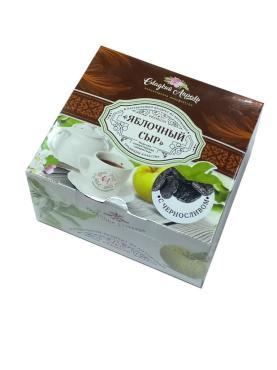 Пастила Яблочный Сыр с черносливом Сладкий Апрель, 300 гр., картон
