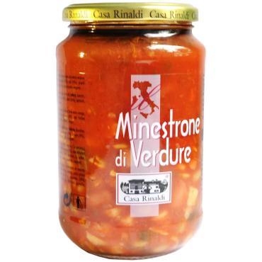 Суп Минестроне овощной Casa Rinaldi, 550 гр., стекло