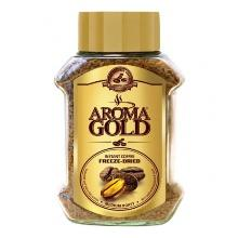 Кофе Aroma Gold растворимый сублимированный, 100 гр., стекло